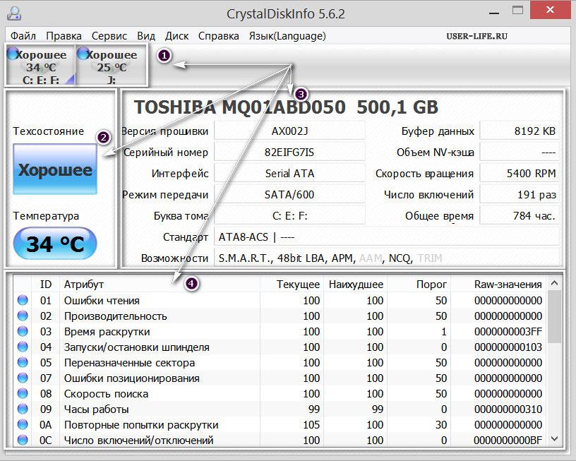 как проверить состояние жёсткого диска - фото 6