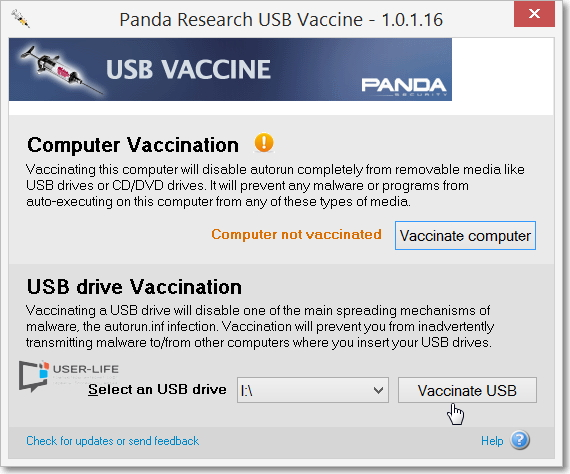 Panda-USB-Vaccine