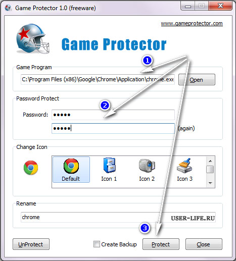 Game-Protector