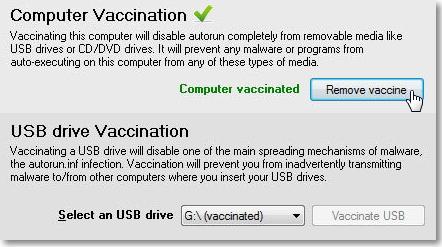 Remove-vaccine